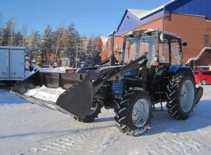 Трактор коммунальный МУП-351