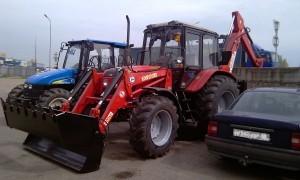 вариант использование трактора МТЗ 92П