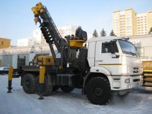 КамАЗ ямобур JunJin SA-040C технические характеристики
