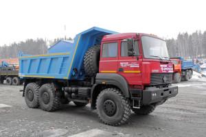 Самосвал Урал 6370