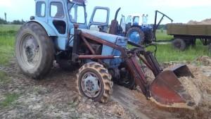 трактор Т-40 навесное оборудование
