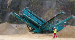 установка powerscreen chieftain 2100x