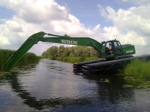 waterking экскаватор