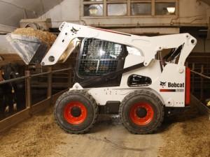 Bobcat S850 применение на ферме