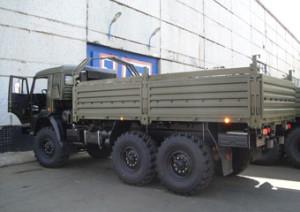 Бортовой КамАЗ 43114