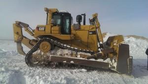 CAT_D9R_03 использование в зимнее время