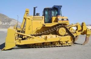 CAT_D9R_03 с навесным оборудованием