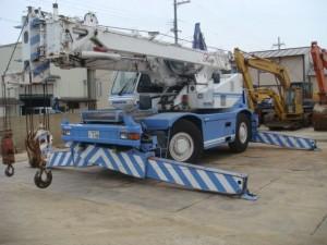 Гидравлический автокран Komatsu LW250-5