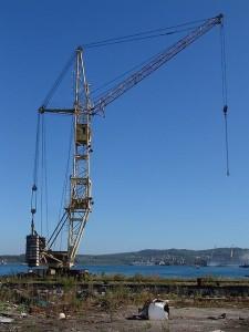 башенный кран КБ-405