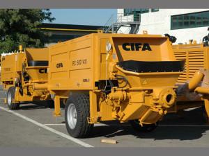бетононасос cifa pc 607