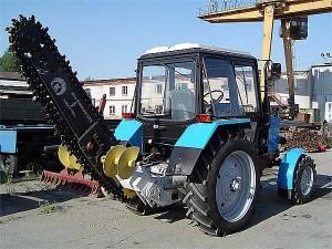 Улучшенный экскаватор цепной универсальный ЭЦУ-150