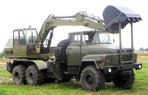 экскаватор ЭОВ-4421