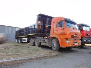грузовик КАмАЗ 6460