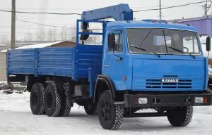 КамАЗ 53212 и манипулятор