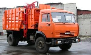 КамАЗ мусоровоз с боковой загрузкой