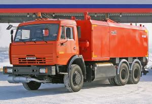 каналопромывочная машина на основе КамАЗ