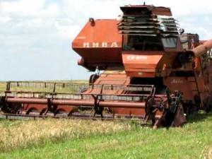 комбайн нива ск-5 сбор урожая