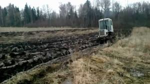 земляные работы трактор т 70