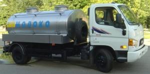 Hyundai HD 78 молоковоз