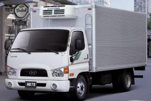 Hyundai HD 78 рефрежератор