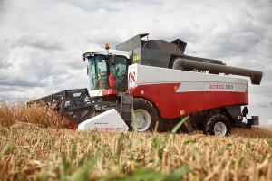 акрос 580 уборка урожая