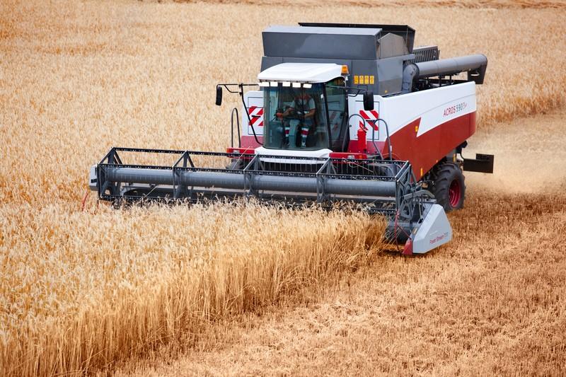 Зерновой комбайн