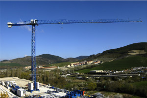 масштабность башенного крана Comansa 10LC140