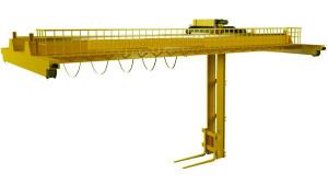 мостовой кран штабелер мостовой двубалочный