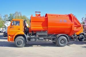 мусоровоз ко-449 применение