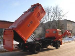 мусоровоз ко 449 на шасси камаз