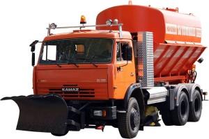 поливомоечная машина ко-829