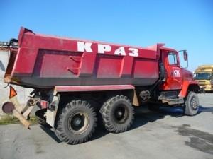 самосвал краз 65032 6х6 20 тонн