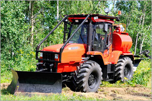 трактор ртм с навесным оборудованием