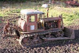 гусеничный сельскохозяйственный трактор дт 54
