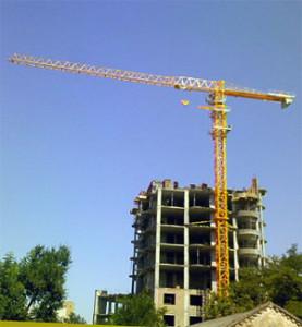 башенный кран qtz 80а