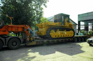 бульдозер т-330 транспортировка