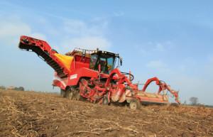 grimme картофелеуборочный комбайн уборка урожая
