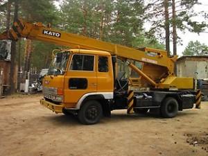 грузовик Hino Ranger с кму