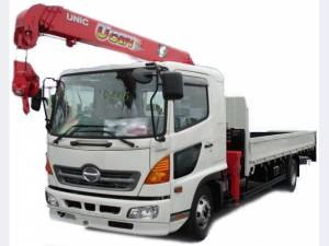 грузовик Hino Ranger с манипулятором