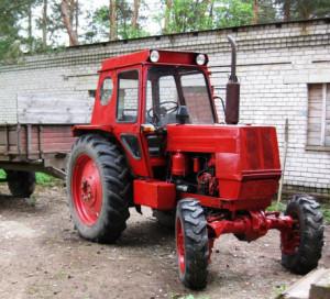 колесный трактор лтз 55
