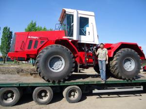 трактор к 744 транспортировка