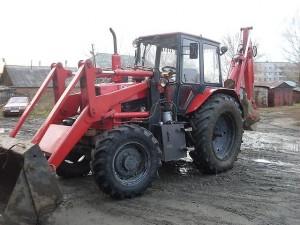 трактор юмз 8244 с навесным оборудованием