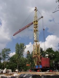 башенный кран кб 503