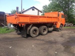 грузовой автомобиль камаз 55102