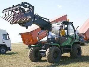 погрузчик амкадор 527 в сельском хозяйстве
