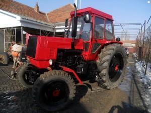 Полноприводный колесный трактор ЛТЗ-60