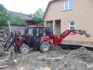 трактор мтз 422 использование