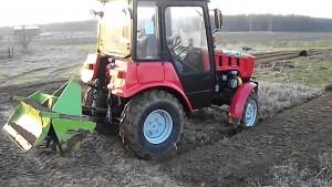трактор мтз 422 с навесным оборудованием