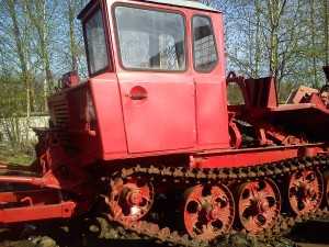 трелёвочный трактор тдт-55 кабина оператора