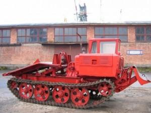 Трелёвочный трактор ТДТ-55 высокой проходимости